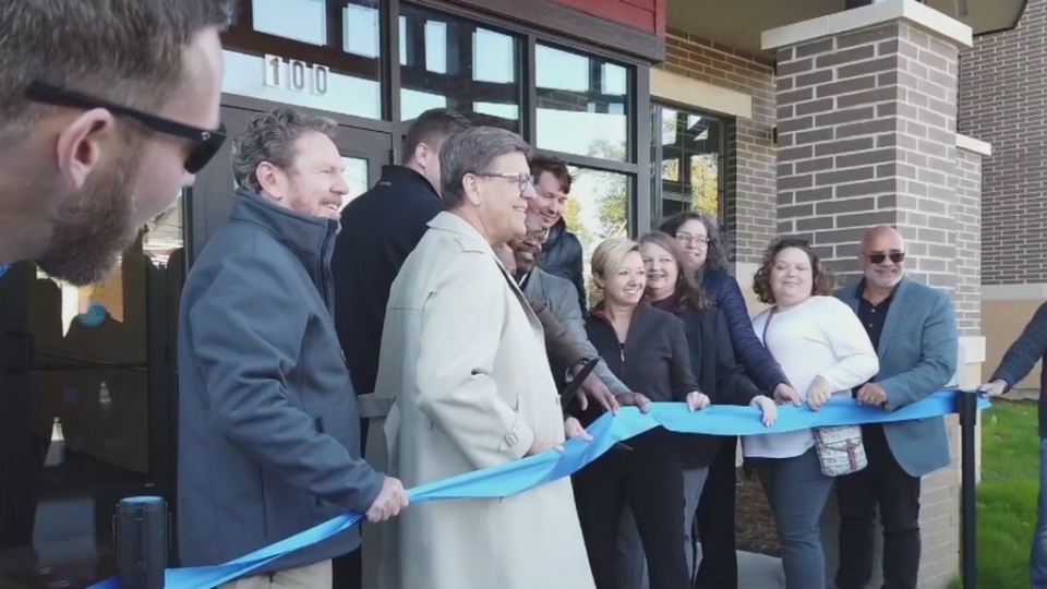 garfield park lofts ribbon cutting