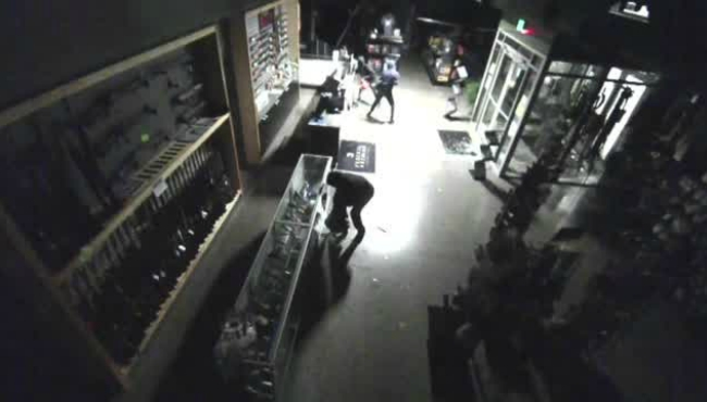 september 2017 barracks 616 break-in surveillance video