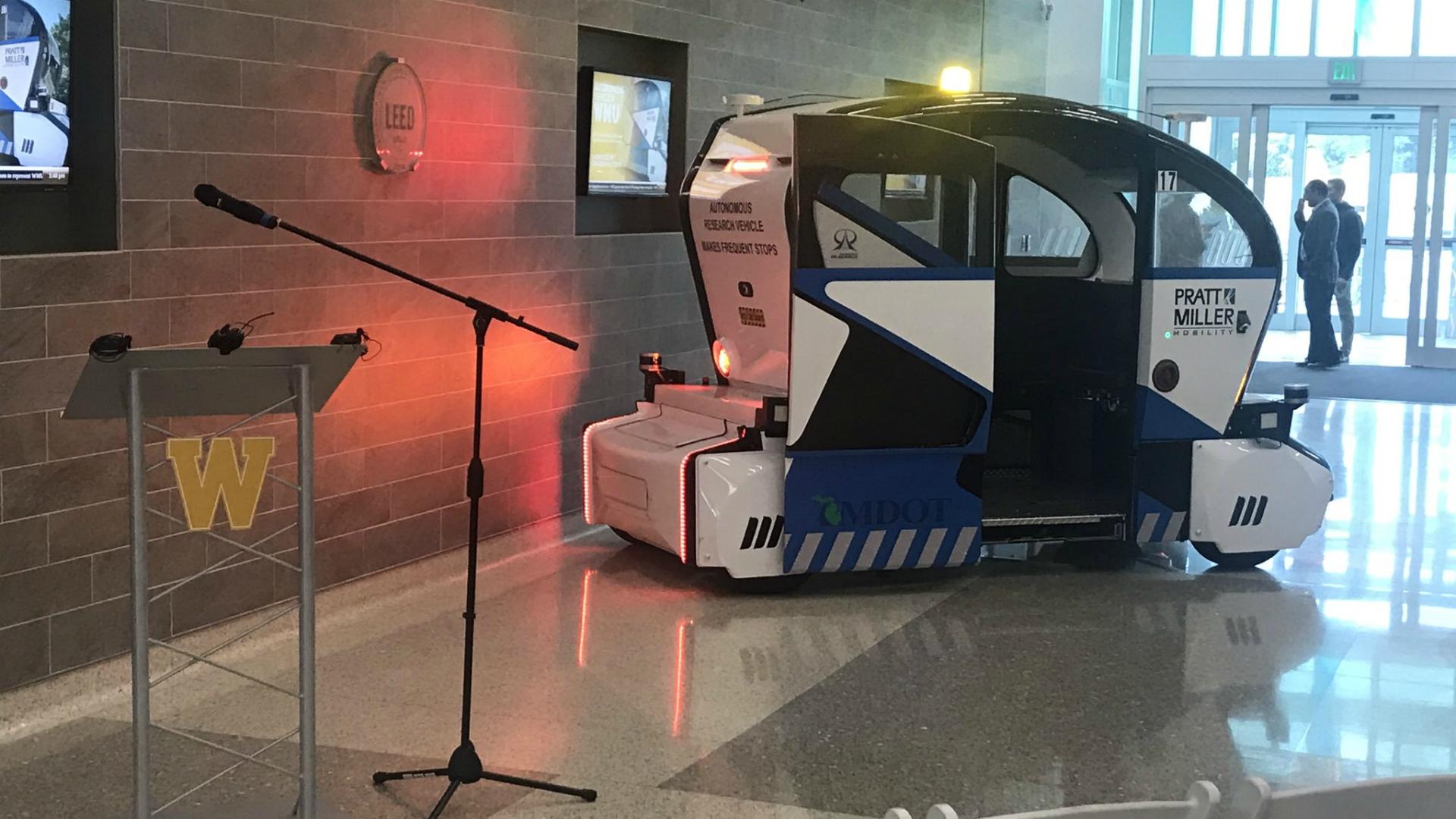 wmu autonomous shuttle