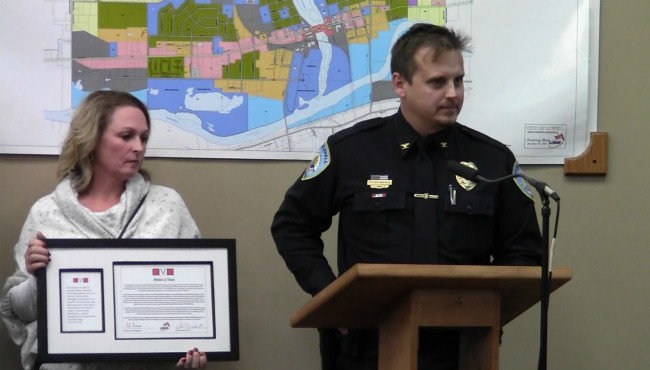 Lowell police chief awarded Medal of Valor | WOODTV com