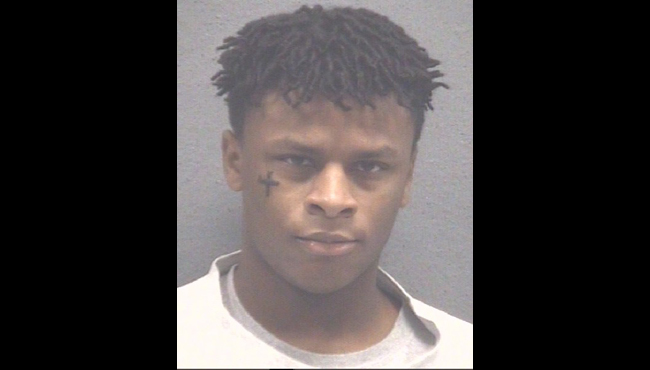 An undated booking photo of TJ Purnell.