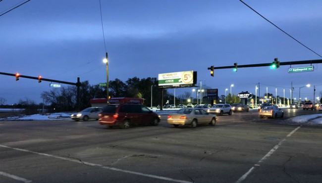 The intersection of 28th Street and Burlingame Avenue in Wyoming Wednesday, Nov. 13, 2019.