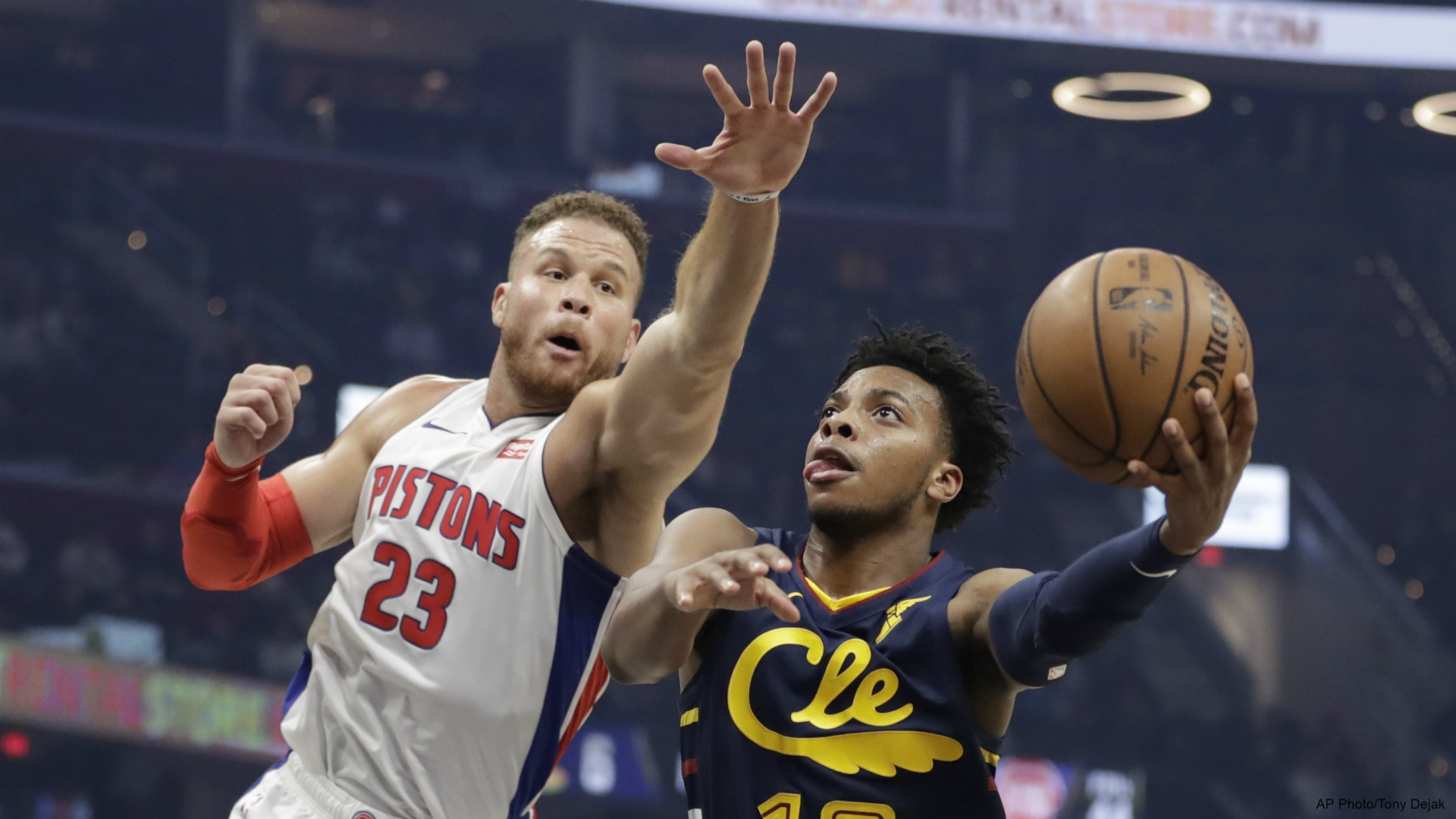 Image result for cleveland cavaliers pistons 2019