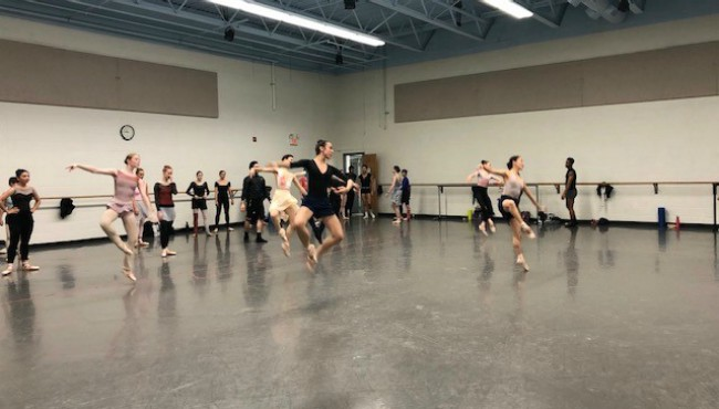 "Dancers with the Grand Rapids Ballet rehearse for this year's ""The Nutcracker."""