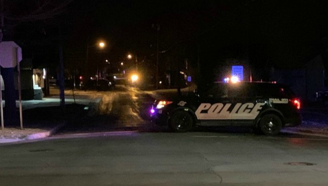 Authorities on scene of a standoff in Hastings Wednesday, Jan. 8, 2020.