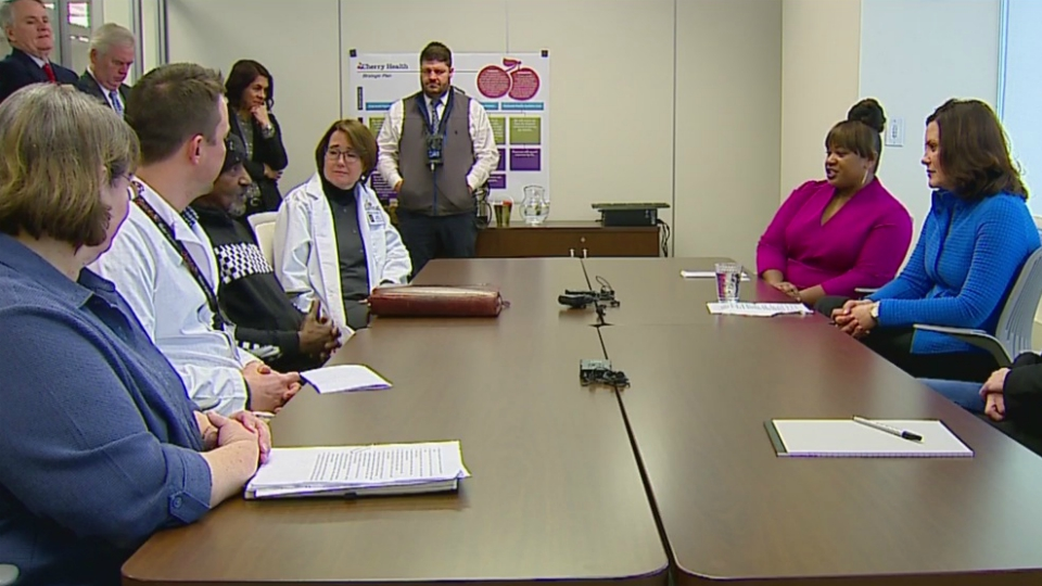 gov. gretchen whitmer prescription drug costs roundtable