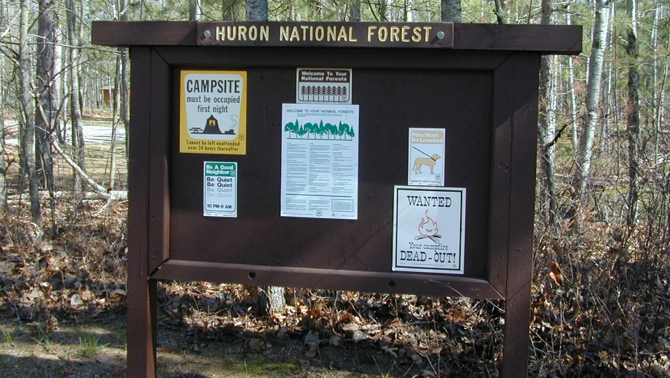 Courtesy of Huron-Manistee National Forests
