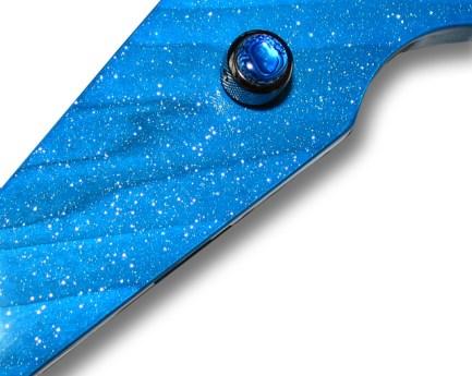 Sky Blue Sparkle Transparent