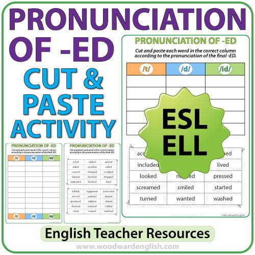 Endings Ed Esl Worksheets