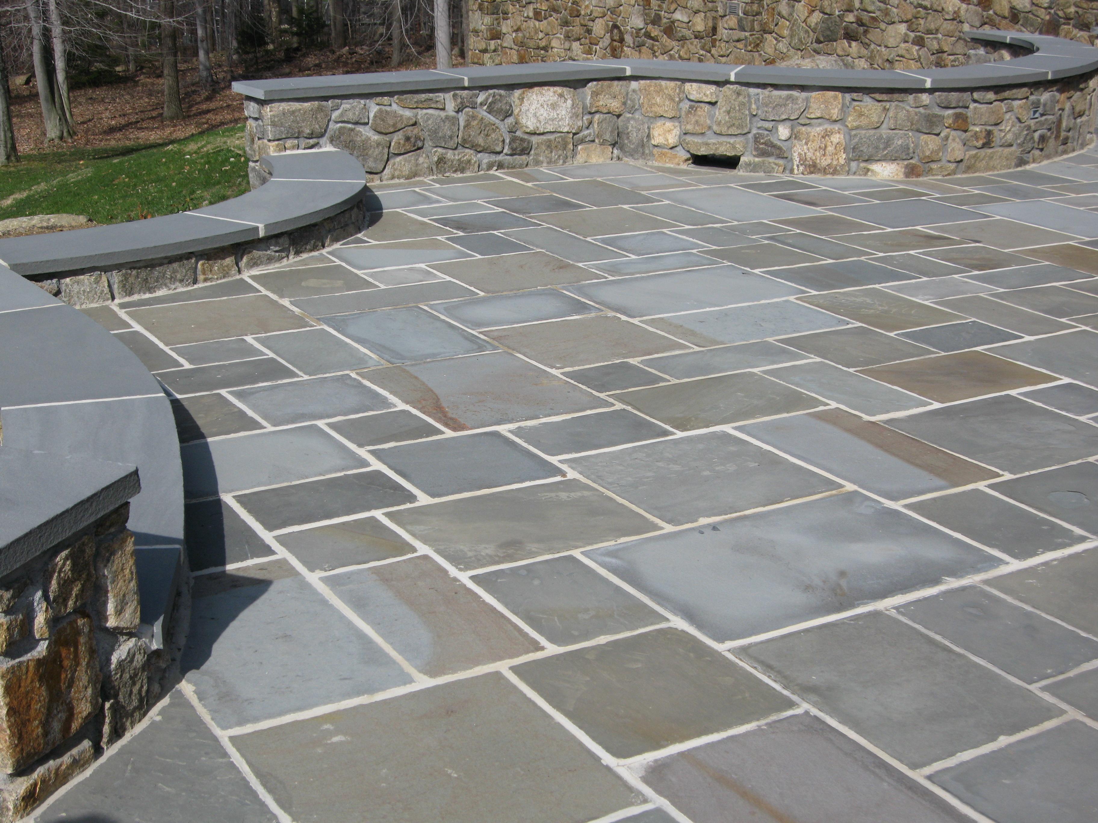 bluestone flagstone thickness thermal