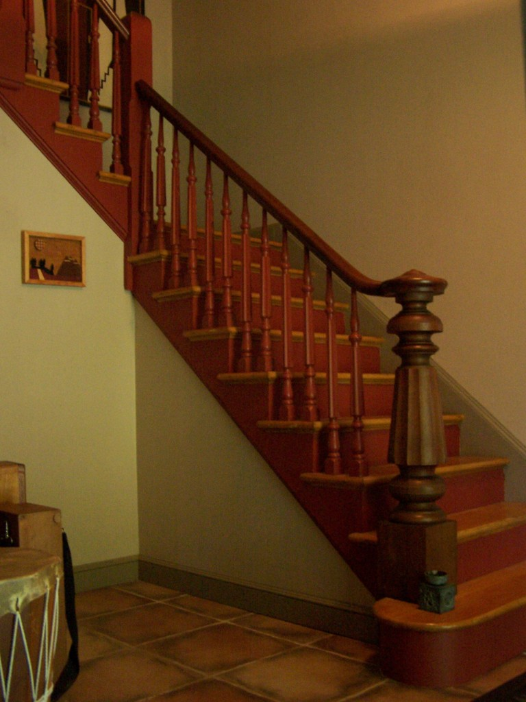 Antique Staircase Ballustrade