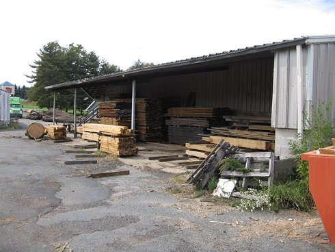 Sawmill Sheds