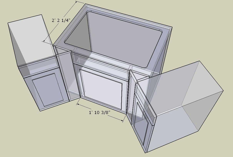 corner cabinet conundrum