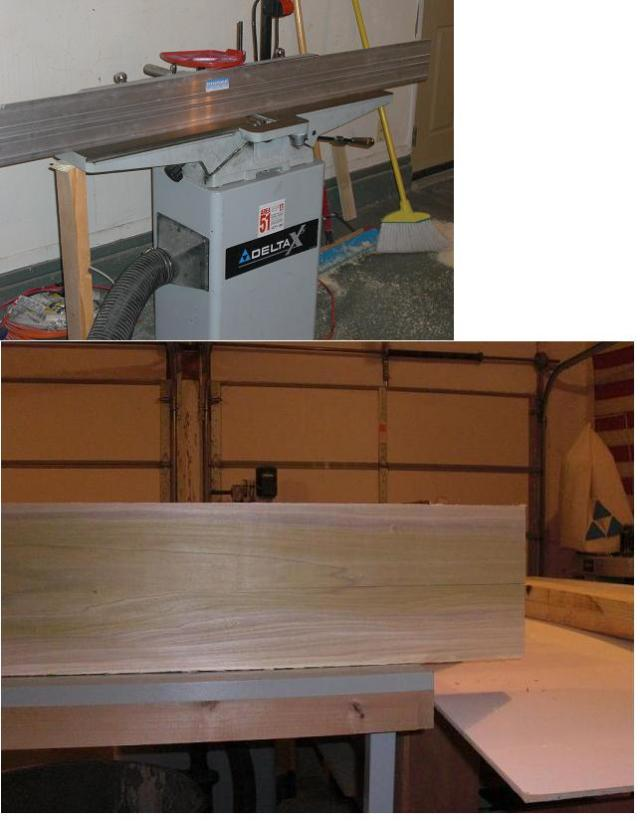 Tuning up a Jointer to Acceptable Tolerances