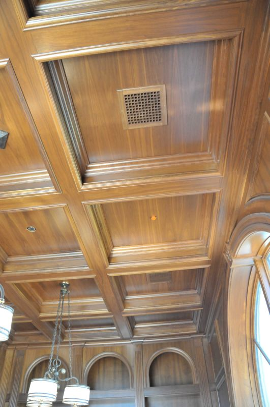 How Much Will A Coffered Ceiling Cost | Shelly Lighting