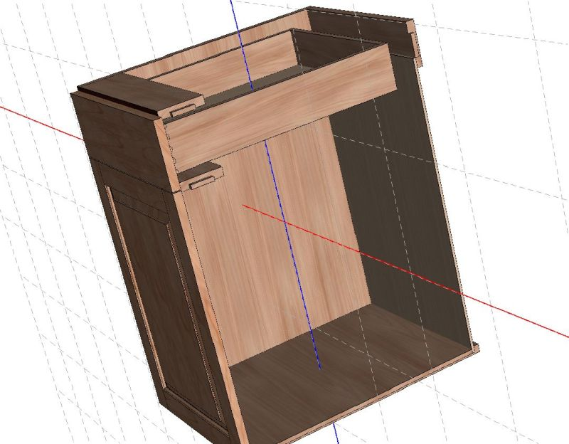 Base Cabinet Construction Details : What is frameless cabinet construction redglobalmx