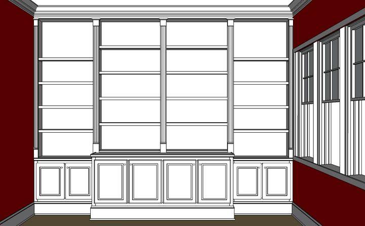 cabinet built in plans