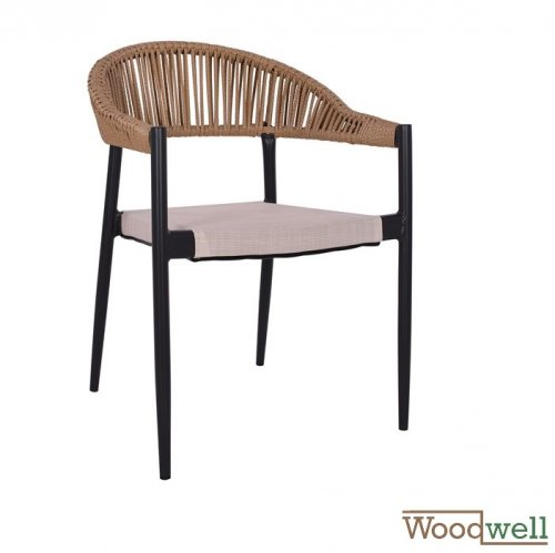 outdoor chairs buy cheap garden and patio armchair with open back in black and beige