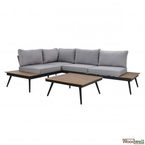 aluminum lounge set san diego lux grau