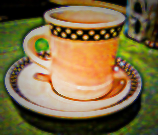 Colorful Image of a Diner coffee mug