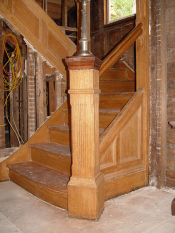 Historic Victorian Staircase Restoration And Preservation