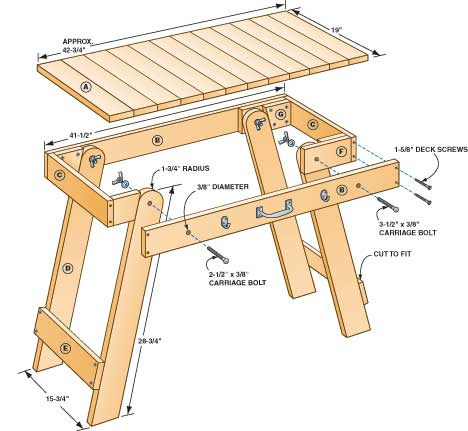 Grill Table Plans