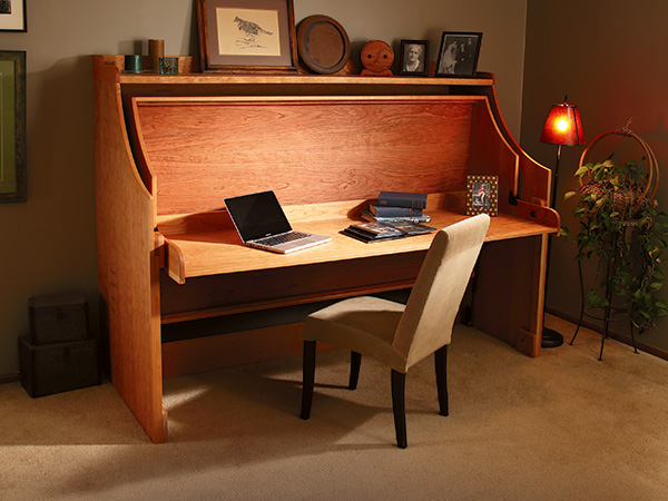 Project Bed Desk Combo Woodworking Blog Videos Plans How To