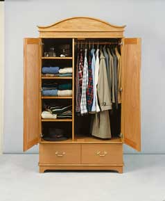 Ana White Simplest Armoire Diy Projects