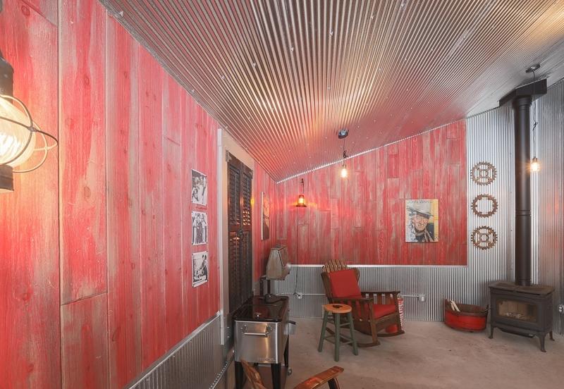Barn Wood Interior Walls