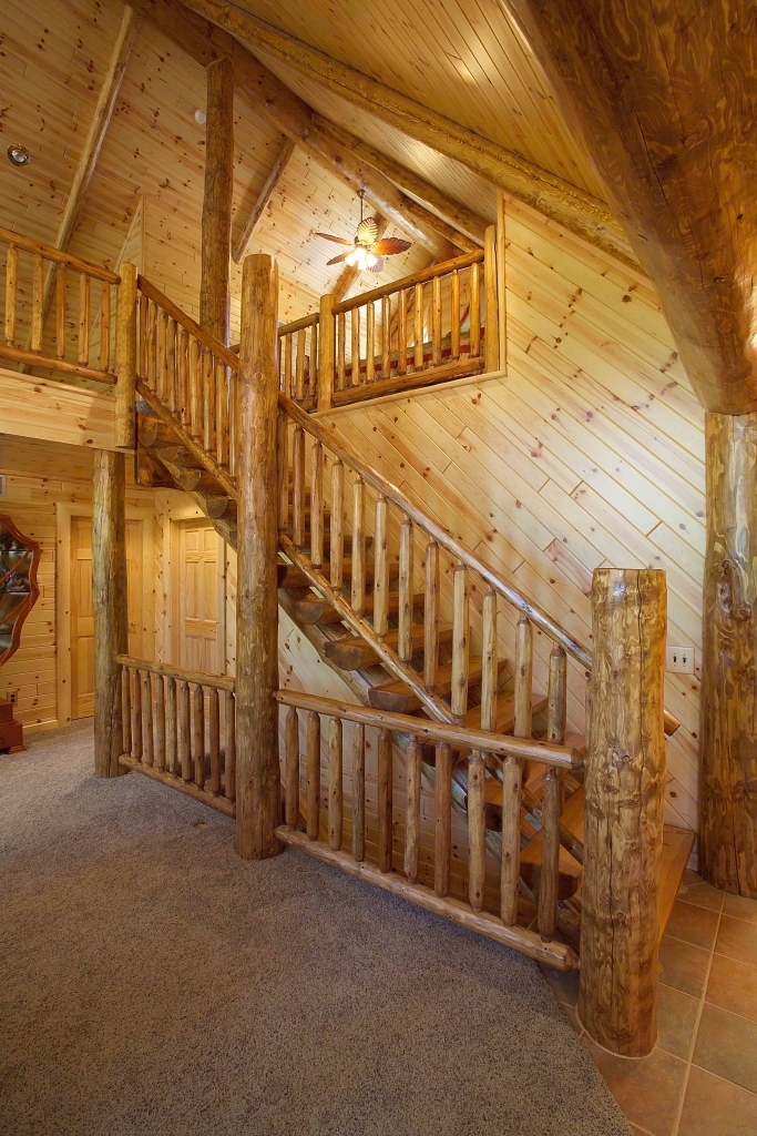 Log Railings And Stairs Cedar And Pine Log Railing Systems | Stairs And Railings Near Me | Stair Treads | Deck | Stair Parts | Iron Balusters | Stair Case