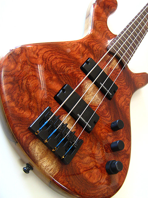 A High End For The Low End Tom Gardens Hand Made Bass
