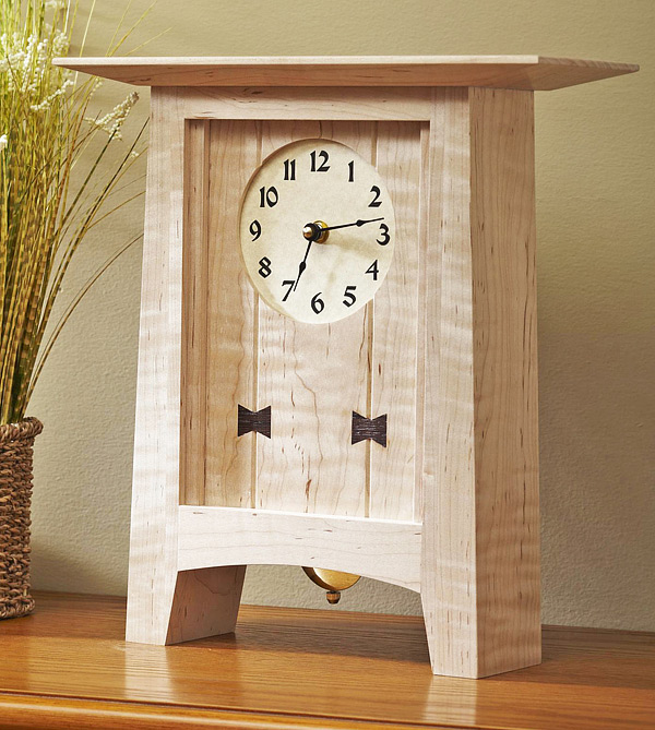 wood clock plans