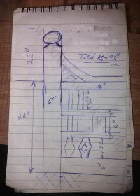 Victorian style gates - sketch we received