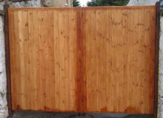 A gate made from Fifths Softwood