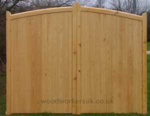A gate made from Unsorted Softwood