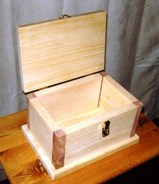 wooden chest plans free