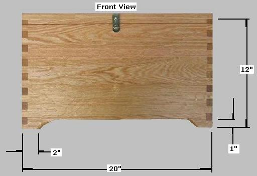 Build Plans How To Make A Wooden Box Blueprints Wooden Attached