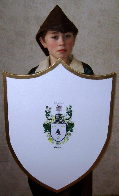 Medieval Shield Template
