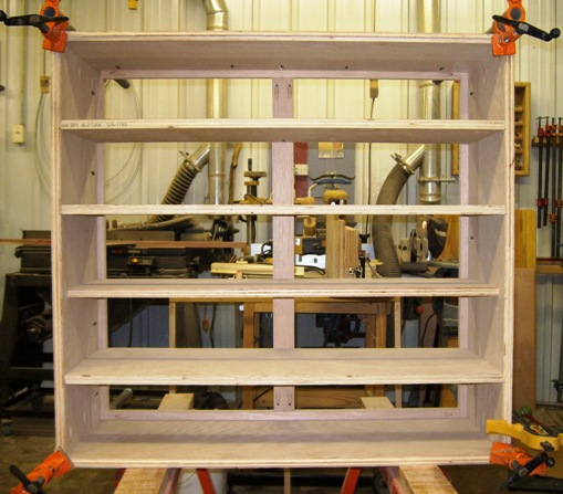 oak shoe rack plans
