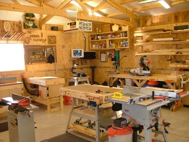 Show us your shop! - Page 4 - Woodworking Talk ...