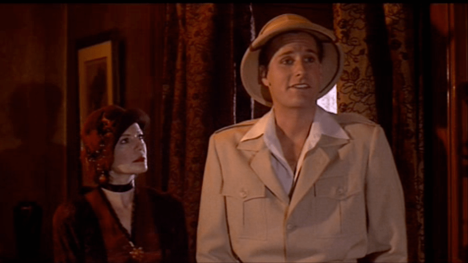 Diane Wiest and Jeff Daniels in The Purple Rose Of Cairo