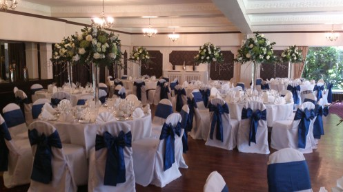 Deanwater hotel venue dressing