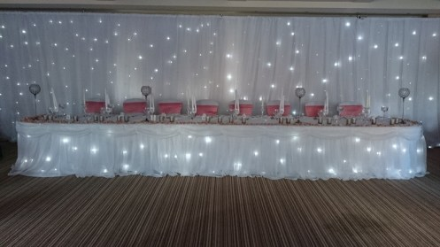 star cloth twinkling backdrop hire cheshire