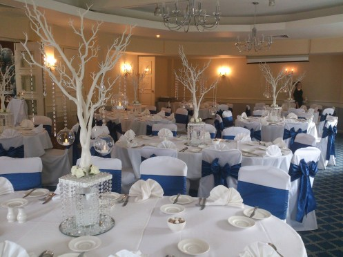Stanneylands Hotel venue dressing