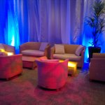 Chill out room up lights
