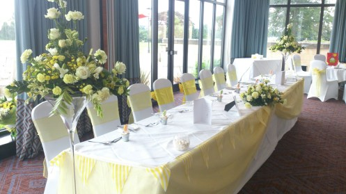 Worleston Suite venue dressing