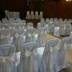 Chair Covers at The Court House in Worsley