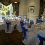 Chelford Suite Wedding Breakfast