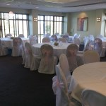 Chair covers and pink sash at The Tytherington Club (5)
