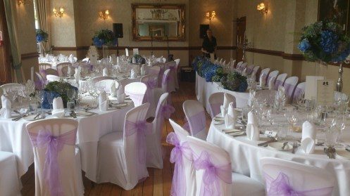 Crystal Suite Venue Dressing